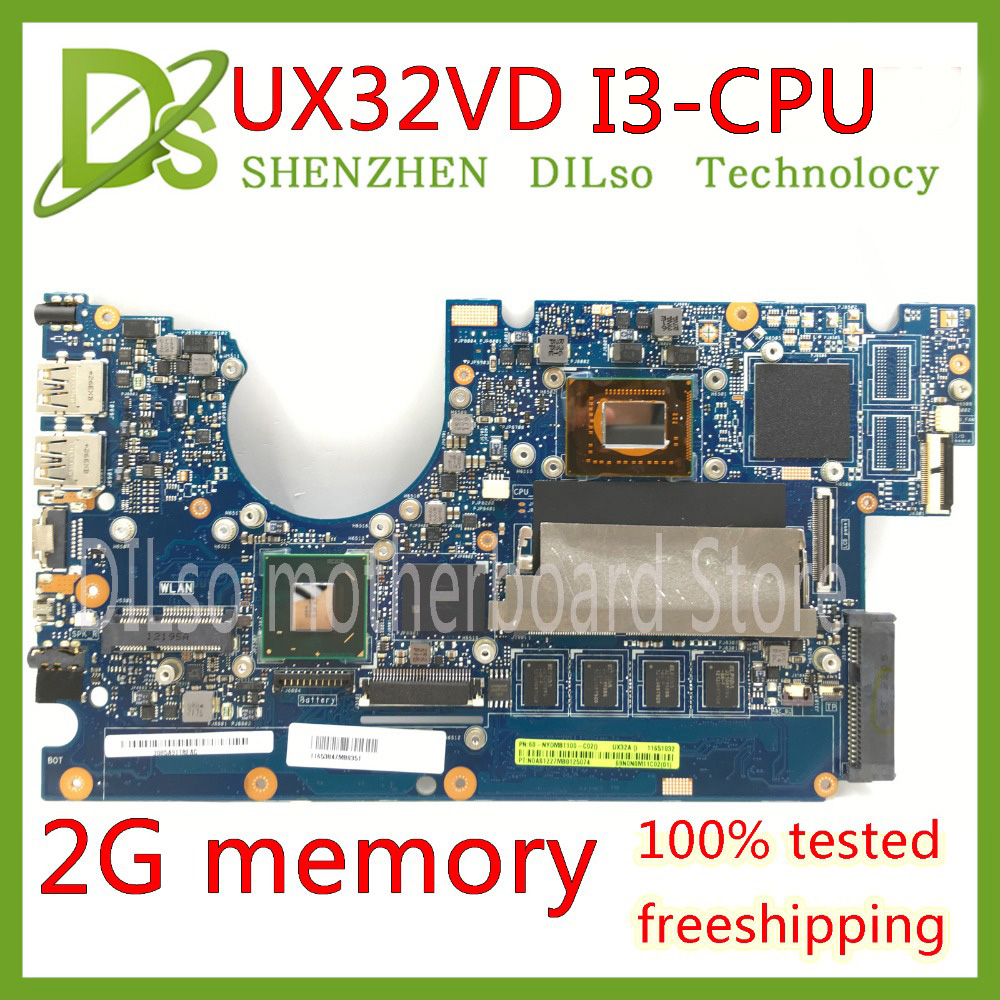 KEFU UX32VD ASUS CPU Laptop for I3 GM 2GB Original Test-Mainboard