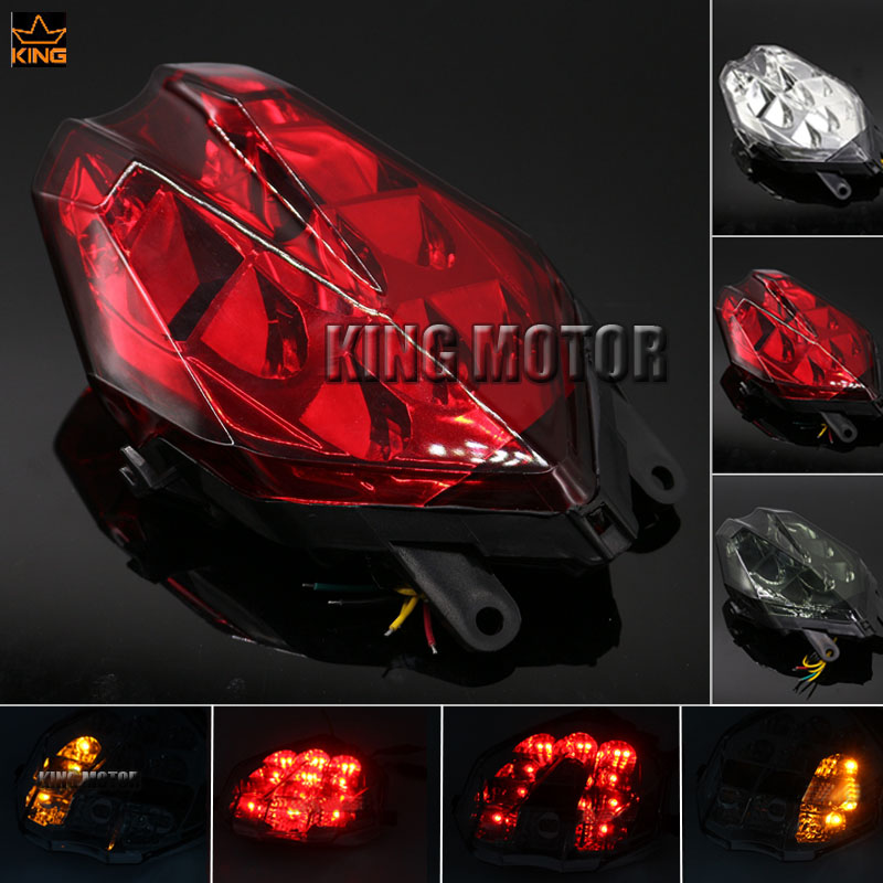 Hot Sale For Triumph Daytona 675/R / Speed Triple 675 2013-2016 Motorbike Integrated LED Tail Light Turn signal Blinker Lamp Red hot sale red mini r