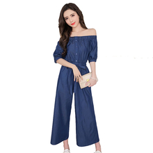 Buy Wide Leg Jeans Jumpsuit And Get Free Shipping On Aliexpresscom