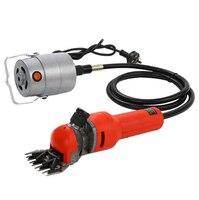 Free shipping 220 240V 750W Flexible shaft Electric Sheep Goat Shearing Machine Clipper Shears Cutter Wool scissor