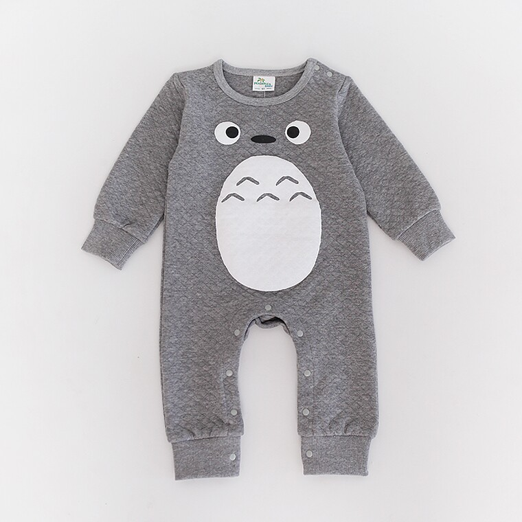 2015 new baby clothing Totoro rompers for newborns body suit kids clothes boys girls jumpsuit baby romper cotton infant clothing mother nest 3sets lot wholesale autumn toddle girl long sleeve baby clothing one piece boys baby pajamas infant clothes rompers