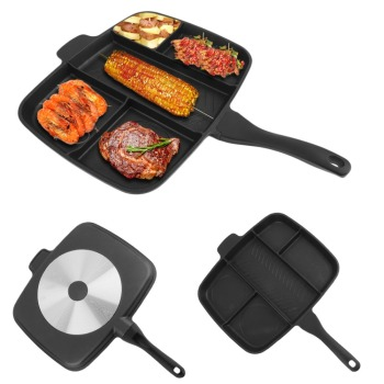 5 Sections Frying Pan