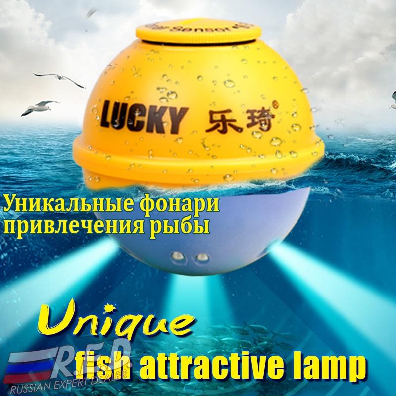 Trouveur de poisson portatif sans fil de Version russe de LUCKY FFW718LA 45 M/135FT pour la rivière de mer de lac - 4
