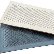 Planche à dessin élastique pour cheveux, tapis pour extensions capillaires, pour vrac, 1 paire (2 pièces) de 24cm x 9cm