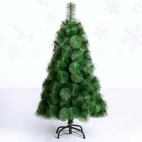 New Style Green Metal Artificial Christmas Tree Christmas Decorations For Home Outdoor Arvore De Natal Christmas