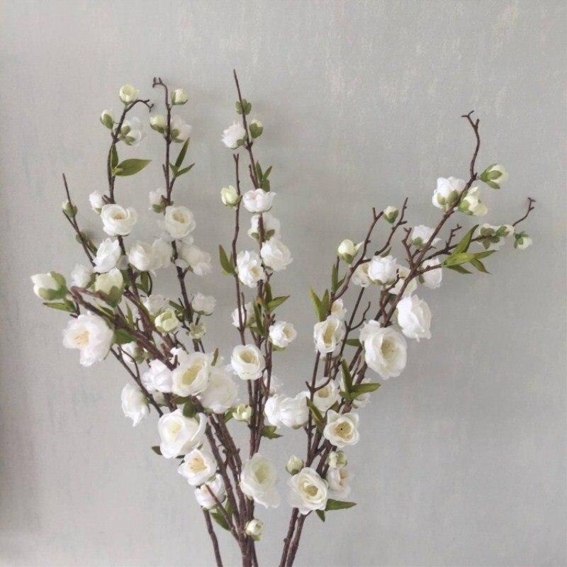 Цветок сливы, персик, цветок сливы, вишня, свадебное украшение, цветы, бесплатная доставка