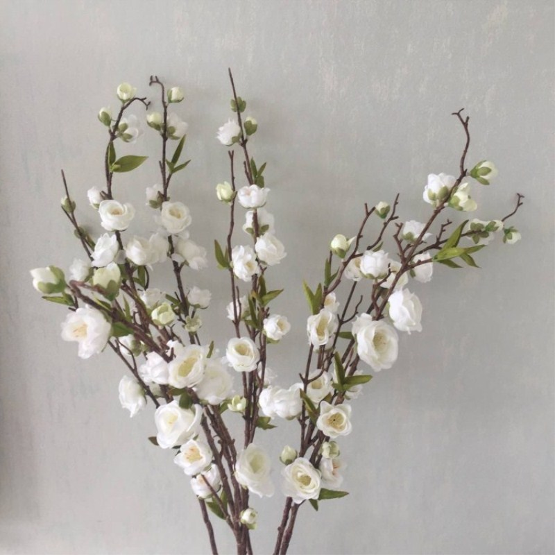 Plum blossom peach blossom plum blossom cherry blossom wedding decoration flowers Free Shipping