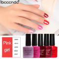 5Pcs/lot UV Gel Nail Polish Lasting Nail Gel Peel Off Soak-off LED Lamp Nail Art Set Nails Varnishes Gelpolish Lak Red Series