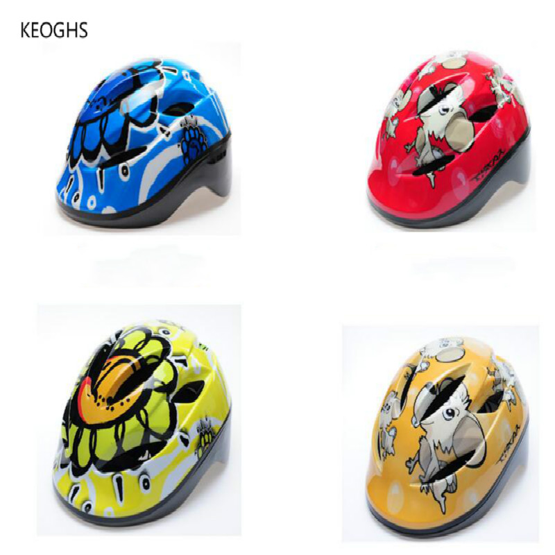 average size new style High quality cartoon kids motorcycle helmet child kids helmet girl boy safety with Air holes