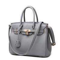 Fashion 2015 New Desigual Bag Quality Women Leather Handbags Lock Ladies Tote Hand Bags Women Shoulder