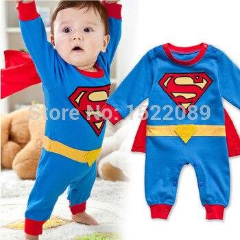 halloween costume baby cosplay romper 2015 new summer superhero superman cotton baby boy girl carters rompers newborn pajama on aliexpresscom alibaba