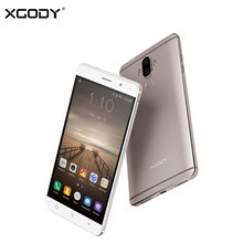 XGODY Y19 4G LTE Smartphone Android 7.0 Nougat Metal Body 6.0 Inch Fingerprint 2G RAM 16G ROM Touch Smart Mobile Phone Cellphone