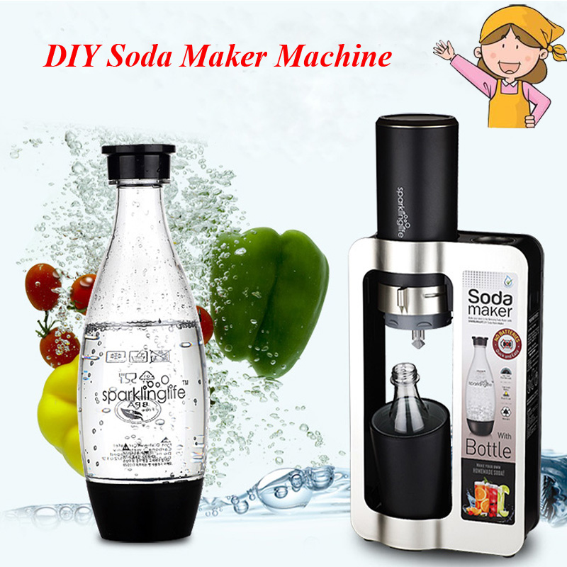 brand homemade soda water machine soda maker expert bubble generator machine diy bubble drink - Soda Maker