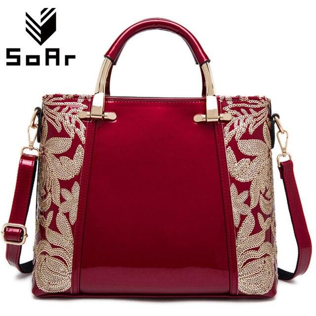 SoAr Women Bags 2017 Fashion Flower Famous Brand Shoulder Bag ...