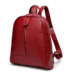 Для женщин кожаный рюкзак Для женщин сумки хозяйственные сумки телячьей кожи из искусственной кожи