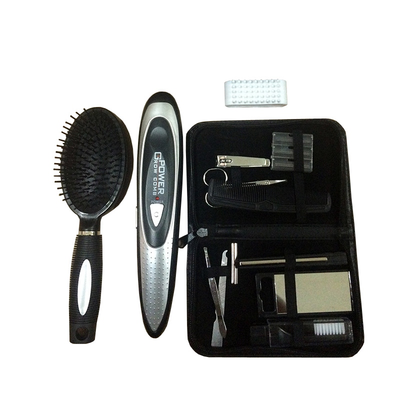 New Hair Grow Comb Comb massager herapy Massager Brushes Scalp + Manicure set high quality scalp massage comb 3 color mixed hair hair curls comb send elders the best gifts health care tools