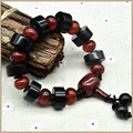 Yumten 2017 Bracelets men Women Agate Stone Natural Bead Bracelet Women Unisex Crystal Fine Jewelry Bracelets beads Jewelry Bag