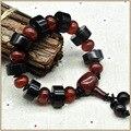Yumten 2017 Pulseiras de Cristal de Ágata Pedra Natural Bead Bracelet Mulheres Unisex Das Mulheres dos homens Jóias Finas Pulseiras de contas de Jóias Saco