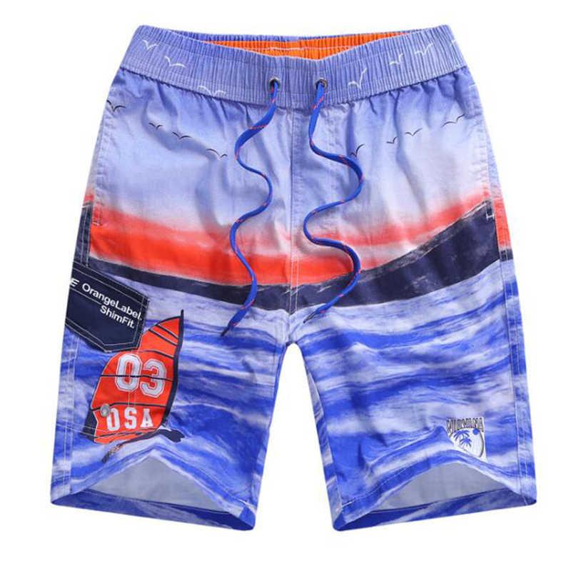 b6737d8e8e ... 2019 Small Size 6 8 10 12 14 16 Years Old Boys Kid Boy's Board Shorts  ...