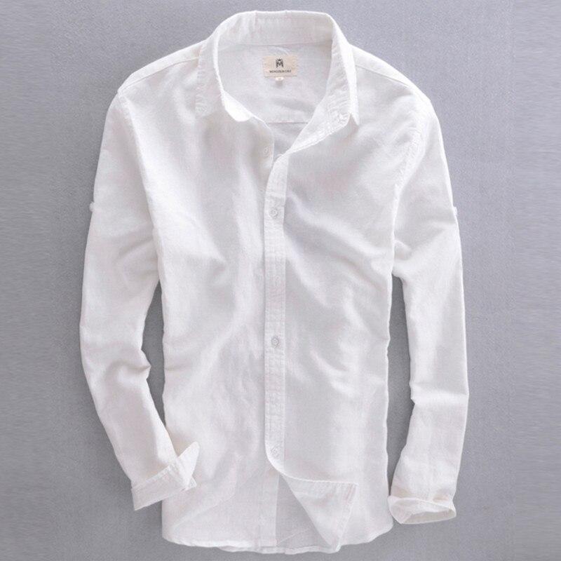 White Cotton Dress Shirt - Greek T Shirts