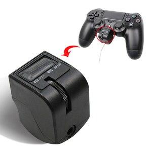 Image 4 - Adaptador de auriculares Mini con mango de 3,5mm, Control de voz, accesorios para videojuegos, PS4, PSVR, PS4, VR