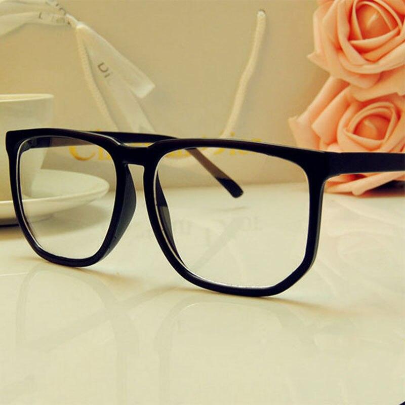 TinffGan Big Glasses Frame 2019 Women Large Eyeglasses Frame Men Eye Glasses Frames Pc Spectacle Black Eyewear Oculos De Grau