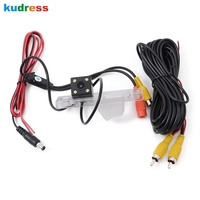 For Chevy Chevrolet Cruze Hatchback 2013 2014 2015 Wired Parking Camera With LEDs Reverse Backup Rear