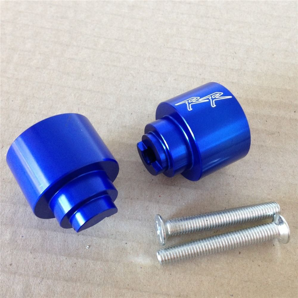 Aftermarket free shipping motor parts Hand Bar Ends For Hond CBR 250 600 900 929 954RR 1100 RR CBR1100XX RC51 Blue