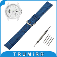 18mm 20mm 22mm 24mm Croco Genuine Leather Watch Band For Citizen Stainless Steel Pin Buckle Strap