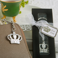 15pcs/Lot+NEW ARRIVAL Majestic Crown Key Chain Baby Shower Favors Birthday Party Giveaway Gift For Guest+FREE SHIPPING