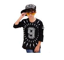 Full Cotton Children T Shirts 2016 Fashion Summer Boy's Tops Big Size Tees New Brand Girl Shirt Children's Clothing T Shirts