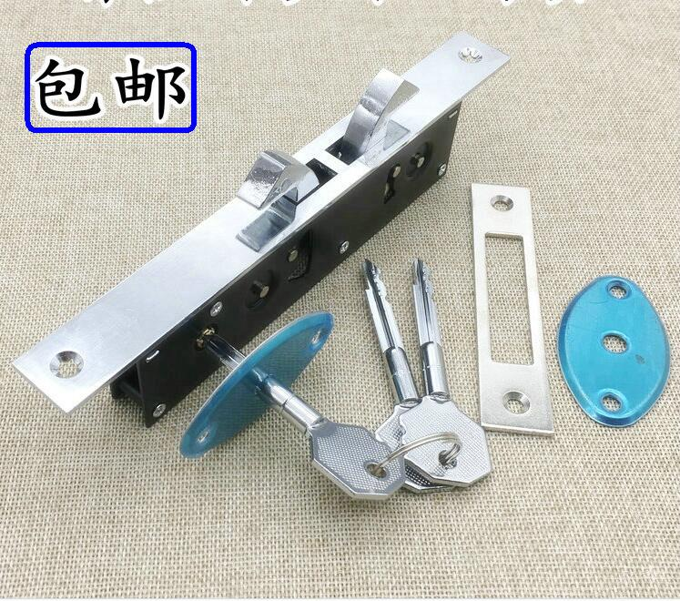 Home gate Sliding door double hook lock Stainless steel aluminum door lock