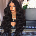 180% Density Thick Full Lace Wigs Body Wave Peruvain Virgin Hair Best Human Hair Lace Front Wig For Black Women Glueless Wigs