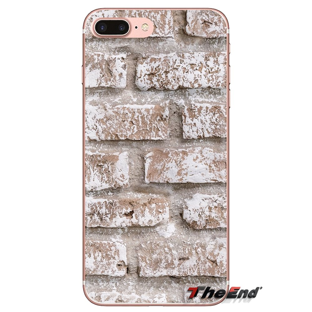 Brick Wallpaper Soft Transparent Cases Covers For Ipod Touch Apple