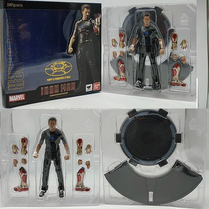 Action Figure Avengers SH figuarts MARVEL Figura Acción Tony Stark Iron man 3