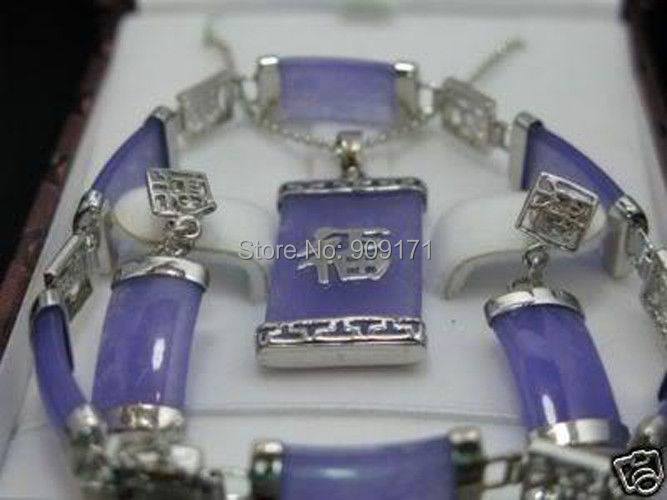 Free Shipping>>>> Alexandrite pendant Errings Bracelet set ...