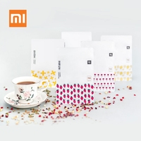 New Xiaomi Youpin Tea Bags Rose Lemon Black Tea Oolong Fruit Red Tea Bag Infuser Leaf Teabags for Family Friends Gift 20Pcs/50g