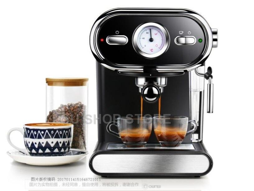 Máquina de Café italiana DL-KF5002 20BAR Visualização Semi Casa Controle de Temperatura Completo