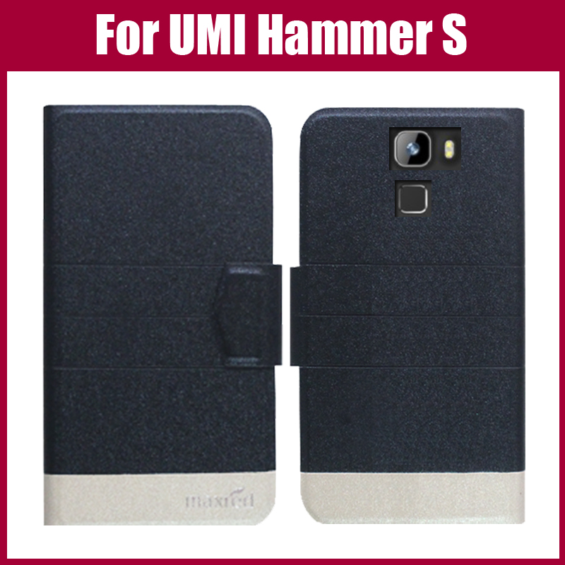 Hot Sale! UMI Hammer S Case New Arrival 5 Colors Fashion Flip Ultra-thin Leather Protective Cover For UMI Hammer S Case