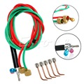 A40 New Hot Sale Jewelers Micro Mini Gas Little Torch Welding Soldering Kit & 5 Tips