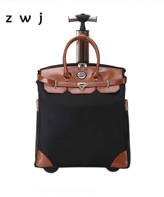 5b0c0d3fb15b Для женщин Путешествия кабина Чемодан сумка тележка чемодан прокатки Чемодан  сумка чемодан на колесах дорожные сумки
