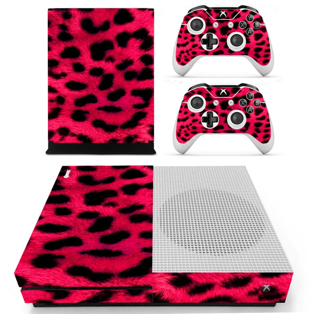 S0025 Decal Vinyl Skin Sticker Protector for Microsoft Xbox One Slim Console and 2 Controllers skins Stickers for XBOXONE Slim