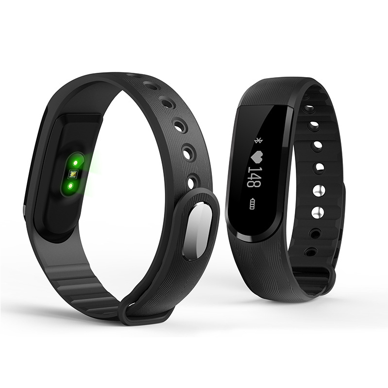 ID101HR Smart WirstBand Fitness Tracker Heart Rate Monitor Music Control Pulse w