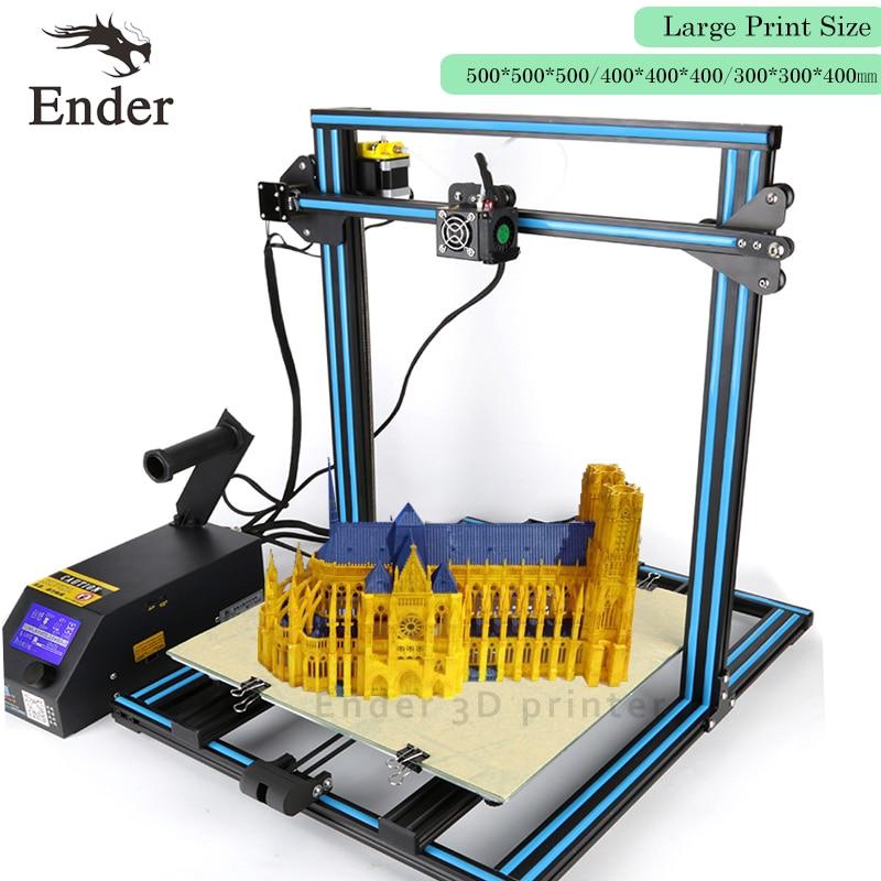 CR-10S 4S 5S 3D printer DIY KIT Dual-Leading-screws Rod,Prusa i3 Large size Filament Monitoring Alarm;power failure Creality 3D