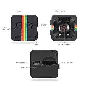 Image 5 - SQ10 SQ11 SQ12 Mini Camera 1080P Full HD Night Vision Camcorder Car DVR Video Recorder Sport Digital Camera Support TF Card
