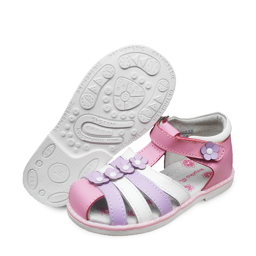 b476a81ba3 LOVELY Genuine Leather Girl Children Sandals Orthopedic shoes, Summer Kids/ child's princess Shoes-in Sandals from Mother & Kids on Aliexpress.com    Alibaba ...