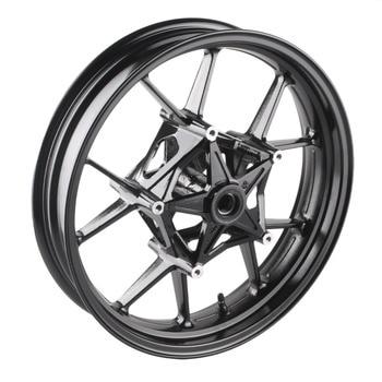 Мотоцикл сплава передние колеса для BMW S1000RR 2009 2010 2011 2012 2013 2014 2015 и S1000R 2014-2015 черный