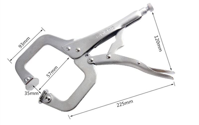 RDEER-9-11-18-C-Clamp-Quick-Locking-Pliers-Long-Jaws-Round-Welding-Clamps-Locator-Clips_