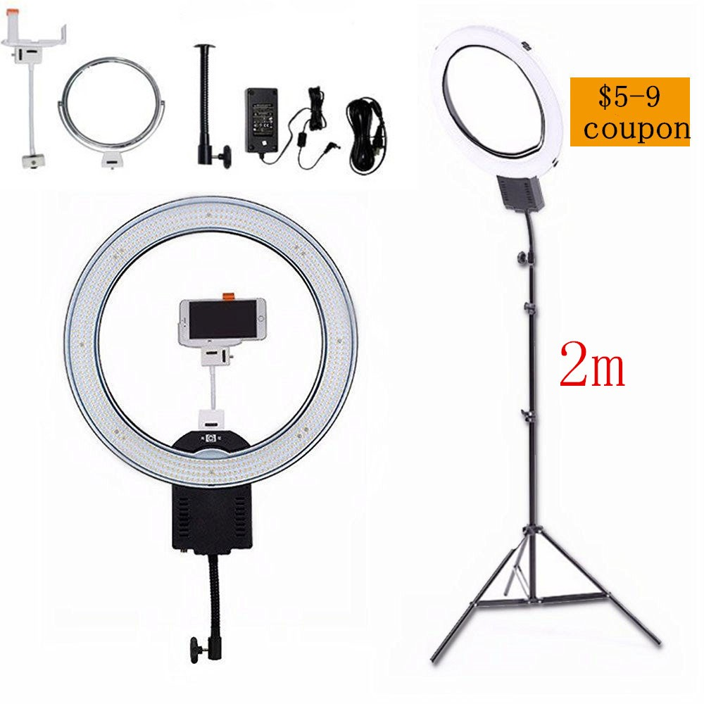 NanGuang-CN-R640-19-Outer-Photography-Video-Studio-640-LED-5600K-Macro-Ring-Light-for-Makeup