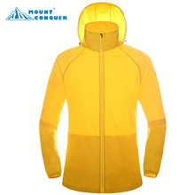 2017 Women&Men Summer Outdoor Sport Breathable Thin Fishing Jackets Hooded Quick Dry Hiking Camping Shirts KD Quick Dry Thin